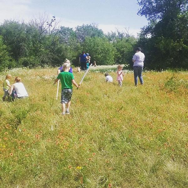 Forest School connects kids with the natural world at Tandy